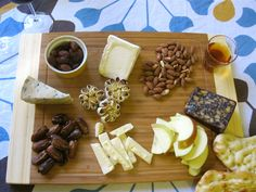 my first cheese platter sustenance Wine Tasting Party, Eat To Live, Cheese Platters, Best Dishes, Pampered Chef, Antipasto, Charcuterie, Menu, Plates