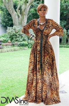 She is Stunning and Looks Like Royalty!South African TV Presenter and Actress - Boity Thulo African Inspired Fashion, African Print Fashion, Ankara Fashion, African Prints, African Attire, African Dress, African Style, South African Celebrities, African Beauty