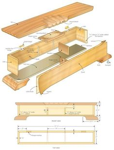 Build a Timeless Jewellery Box - Canadian Woodworking Magazine Used Woodworking Machinery, Woodworking Hand Tools, Youtube Woodworking, Woodworking Basics, Woodworking Patterns, Woodworking Magazine, Woodworking Workshop, Woodworking Projects, Woodworking Plans