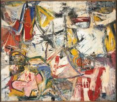 Willem de Kooning, Gotham News, 1955, Oil on canvas, 69 x 79 inches