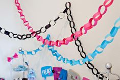 DIY Paper Chain Garlands