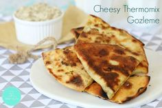 If you're a fan of oozy gooey cheesy treats, then this is for you! Our Cheesy Thermomix Gozleme are perfectly crispy on the outside and oh-so-deliciously cheesy on the inside. Our gozleme recipe is super Gozleme Recipe, Thermomix Bread, Cheesy Recipes, Spinach Recipes, Savoury Baking, Spinach And Cheese, Grated Cheese, Savory Snacks, Savoury Recipes