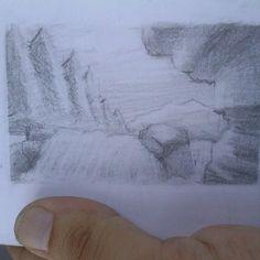 Thumbnail landscape from imagination.