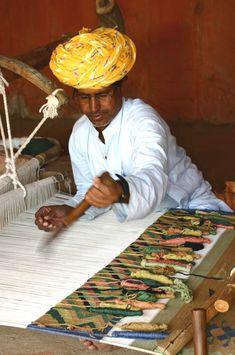 Weaver : Bishnoi Peoples village(Dhanies)