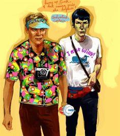 weird-fan-art-kirk-spock.jpg (JPEG Image, 875×1000 pixels)