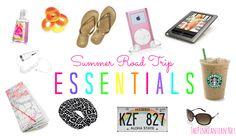 Summer Road Trip Essentials!