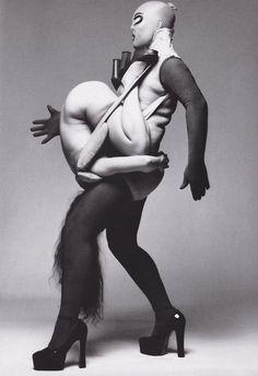 Leigh Bowery and Nicola Bateman - Lou Stoppard reference image