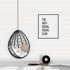 Antisocial Social Club, Anti-Social Gift, Funny Quote Print, Quote Poster, Motivational Quotes, Dorm Decor, Dorm Posters  || Modern wall art and gifts ||  #culverandcambridge #homedecor #walldecor #wallart #printableart #digitaldownload #printable #interiordesign #poster #posters #artprints  #dorm #dormroom #dormdecor #dormsweetdorm #dormroomdecor  #dormdecorations #dormlife #collegedorm #collegekid #dorms #roommates #collegestudent #oncampus