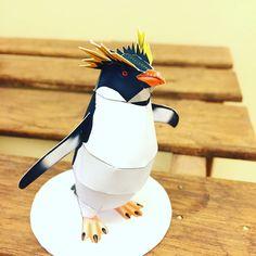 ペンギン!#ペーパークラフト