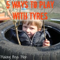 5 ways to play with tires