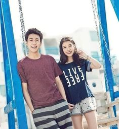 Adorables 😍  #LeeHyunWoo #IU Lee Hyun Woo, T Shirts For Women, Tops, Fashion, Moda, Fashion Styles, Fashion Illustrations