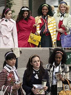 Gossip Girl, Season 1. Prep school perfection and, really, the best season both fashion and plot-wise.