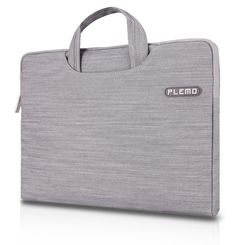 PLEMO Denim Fabric 13-13.3 Inch Laptop / Notebook Computer / MacBook / MacBook Pro / MacBook Air Case Briefcase Bag Pouch Sleeve, Grey at Amazon.com