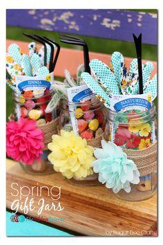 Spring Gift Jars