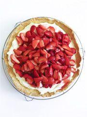 Rezept von Katharina: Erdbeertarte mit Crème, Vanille und Zitrone