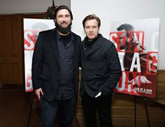 Ewan McGregor and Julius Avery at event of 'Son Of A Gun' 2014