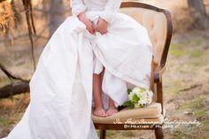 Daughter in Mother's Wedding Dress