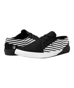 4781b0110742 Love this Black Stripe Lo Fi Sneaker by Volcom on  zulily!  zulilyfinds  Black