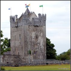 Claregalway castle. Closely associated with the Burke family, this 15th century fortress was recently restored
