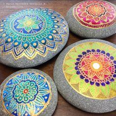 Mandala Pebbles - Mandala Stones