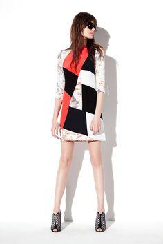Prabal Gurung Resort 2013 Fashion Show - Mina Cvetkovic