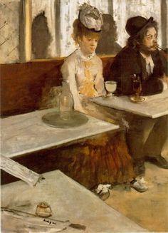 Life & #Art at #Table - A Tavola | #Degas - The Absinthe #Drinker