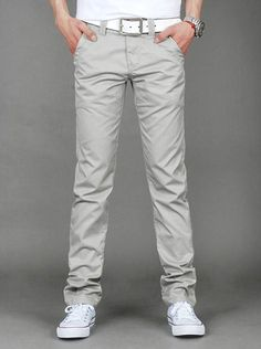 Slim Fit Chinos - 6 Colors