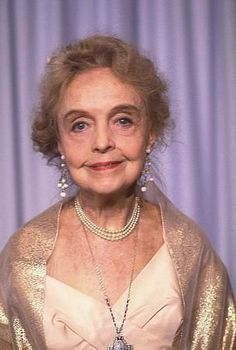 at a glorious older age. Even in her later years, she was still radiant! She lived to be 99 and never married! She was amazing and is one of my favorite silent film actresses