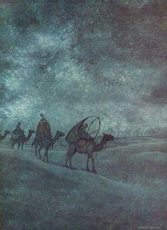Pieck, Anton (b,1895)- Nacht, Karavaan- '1001 Nights'
