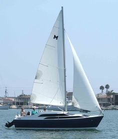Macgregor 26M - fast, light and easy trailer sail boat.