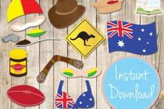 A whole bunch of Australia Day party printables (some paid and some free) from over at Life's Little Celebrations.
