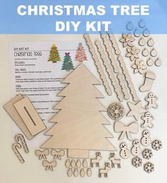 Diy Kits For Adults, Craft Kits For Kids, Diy For Kids, Crafts For Kids, Craft Ideas, Adult Crafts, Fun Crafts, Diy Christmas Tree, Christmas Projects