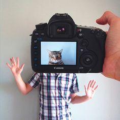 Serie fotográfica transforma mascotas y sus dueños en una sola persona.