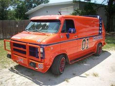 Oh baby! If this van is ah rockin'...    1985 chevy van A-team clone:The General Dukes of Hazard