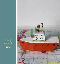 Scrap wood toys