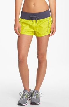 perforated & reflective. really cute new running shorts from Zella