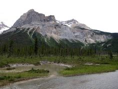 President on the Emerald Lake Circuit in Yoho National Park, BC, Canada