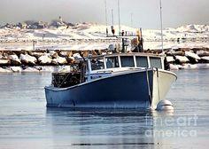 February seascape, Plymouth, MA - Janice Drew