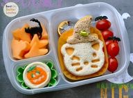 Bats, Cats & Witches' Hats in @EasyLunchboxes