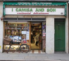 I Camisa and Son: Old Compton Street.    Fratelli Camisa was established in 1929.