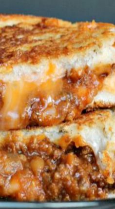 Sloppy Joe Grilled Cheese, game changer