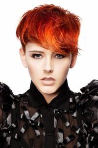 #short #red #orange #hair