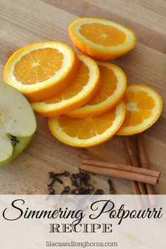 Warm up your home and make it smell amazing with this simmering potpourri recipe. bHome.us