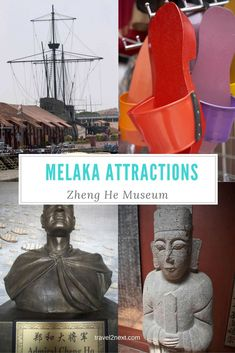 Malacca attractions – Zheng He Museum. In Malaysia's Malacca (also known as Melaka), a historic trading hub along the ancient spice route, the Ming Dynasty explorer Admiral Zheng He (or Cheng Ho), is worshipped by locals.: