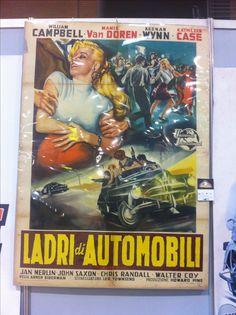 Manifesto originale  www.kustomlifestyle.it #movieposter #affiche #manifesto