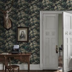 Raphael by Sandberg - Green - Wallpaper : Wallpaper Direct Green Wallpaper, Print Wallpaper, Pattern Wallpaper, Bedroom Wallpaper, Wallpaper Samples, Boutique Wallpaper, Stores, Central Park, Home