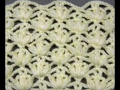 CROCHET CABLE DOUBLE SEED STITCH /  PUNTO ARROZ DOBLE DE OCHOS CROCHET - YouTube