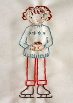izzie on ice by Hillary Lang, via Flickr