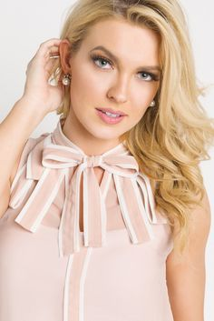 Simply Strapping Tank - Blush
