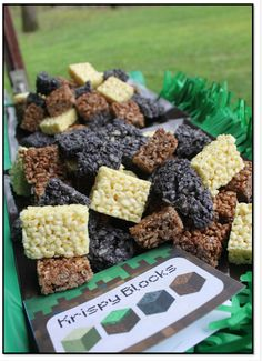 Great Ideas for a Minecraft Birthday Party!
